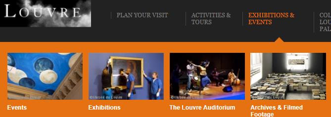 Выставки Лувра