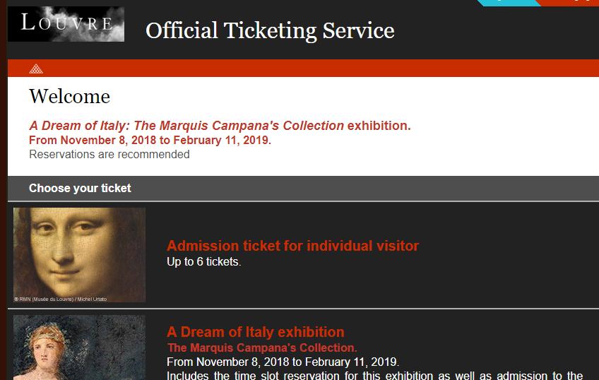 Купить билеты в Лувр